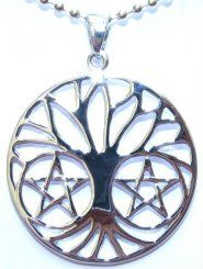 Pentacle Tree Pendant