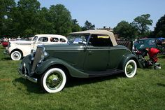1934 Ford V8 Rumbleseat Convertible by Boats-n-Cars, via Flickr