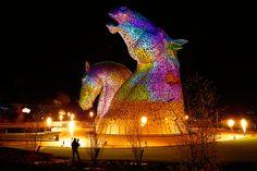 The Kelpies, Scotland's Largest Art Installation