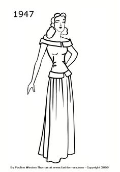 dress9 Teens and adults coloring pages Fashion Pinterest