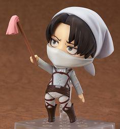 (417) Nendoroid Levi: Cleaning Ver. | Attack on Titan | Good Smile Company | SailorMeowMeow