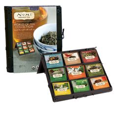 Numi Organic Tea World of Tea Collection | Organic Spa Magazine's 2013 Gift Guide: Cook | #OrganicSpaMagazine