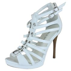 Save 10% + Free Shipping Offer * | Coupon Code: Pinterest10 Material: Man Made Material. Approx 4.75 inches, 0.5 platfrom True to size, Open Toe Sandals Product Code: Oriel-01 White Color Women's Wild Diva Oriel-01 White Strappy Platform Sandals