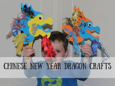 Chinese New Year - dragon crafts for preschoolers