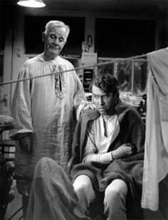 Henry Travers and Jimmy Stewart