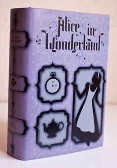 Alice in Wonderland Book Cover by Beth Sicheneder