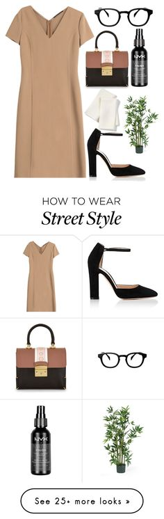 ... on Polyvore featuring Gianvito Rossi, Agnona, ZENTS, NYX and Libeco