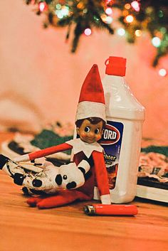 Hilarious, but oh so wrong Inappropriate Elf on the Shelf ideas :)