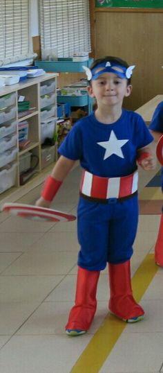 INFANTIL. Disfraz Capitán América 3 años