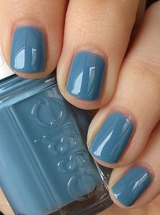 45 Pretty Essie Nail Polish Swatches for The Real Women – Nails art Nail Color Trends, Fall Nail Colors, Essie Spring Colors, Cute Nail Colors, Winter Colors, Winter Nails, Spring Nails, Fall Nails, Hair And Nails
