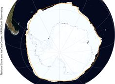 Antarctic sea ice hit 35-year record high Saturday - The Washington Post