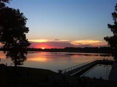 Lake Village Sunset