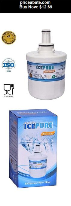Major-Appliances: IcePure RFC-1100A Replacement Refrigerator Water Filter for Samsung DA29-00003G  - BUY IT NOW ONLY $12.69