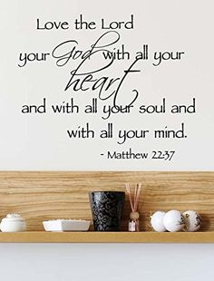 (23x19) Love the Lord your God with all your heart with a... http://www.amazon.com/dp/B00LYRDACS/ref=cm_sw_r_pi_dp_4gDgxb015P0F9