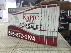 Real Estate Yard Signs --Starting  $5 -- order your with us www.ldpprint.com