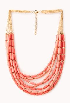Down to Earth Beaded Necklace | FOREVER21 - 1000107897