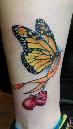 Multiple sclerosis tattoo