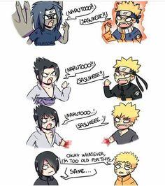 Sasuke or Naruto❤️🔥 ➖➖➖➖➖➖➖➖➖➖➖ 🔔τυrη οη ροsτ ηοτιғιcατιοη!🔥 ❤Put like and comment ✏ 🔱Credit to the owner🔱 ➖➖➖➖➖➖➖➖➖➖➖ [ Naruto Shippuden Sasuke, Naruto And Sasuke, Anime Naruto, Naruto Cute, Naruto Sasuke Sakura, Sasunaru, Narusasu, Kakashi, Animes Yandere