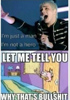 Emo Band Memes, Mcr Memes, Emo Bands, Music Bands, My Chemical Romance Memes, Black Parade, Gerard Way, Found Out, Connor Franta