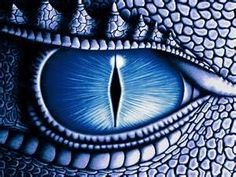 Eye of the Dragon | Black and blue |