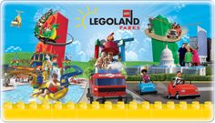 Enjoy your vacation at LEGOLAND Florida Resort. The theme park and water park includes 50 rides, shows and attraction. Experience awesome with your family. Legoland Park, Legoland Florida, Legoland Malaysia, Orlando Florida, Tour Eiffel, Kids Go Free, Attraction, Parc A Theme, Legoland California