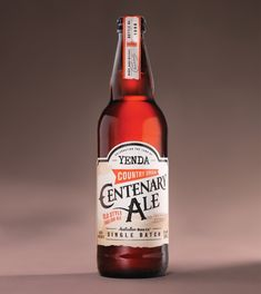 Yenda Centenary Ale on Packaging of the World - Creative Package Design Gallery