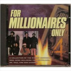FOR MILLIONAIRES ONLY VOL 4 Various Artists NEW NORTHERN SOUL CD (GOLDMINE) R&B 5016556843324 on eBid United Kingdom