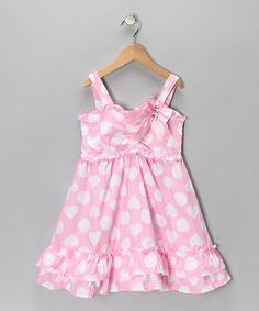 Take a look at this Pink Heart Dress - Toddler today!