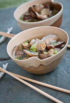 Japanese | Recipe: Manila Clams Healthy  Japanese Miso Soup | Asari MisoShiru あさりの味噌汁