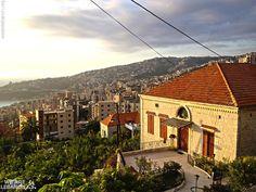 A traditional Lebanese house near Harissa بيت لبناني تقليدي بالقرب من حريصا By Hala Ghorayeb