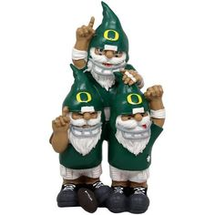 A MUST for the garden: Oregon Ducks Team Celebration Gnomes