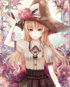 ❤٩(๑•◡-๑)۶❤ Anime - girl