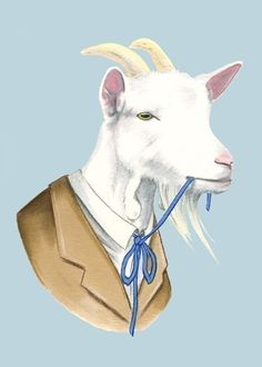 Berkley Illustrations.  From Portland.  Animals in suits and dresses.  Love.
