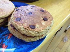 Freeze Your Way Fit: Clean Eating Whole Grain Chocolate Peanut Butter Pancakes