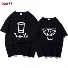 Cute Couple Shirts, Shirts For Girls, Cool Shirts, Couple Clothes, Couple Tees, Funny Shirts Women, Funny Tshirts, Casual T Shirts, Casual Tops