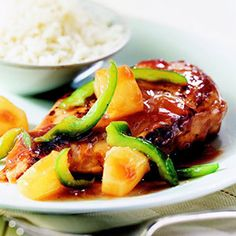 Sweet-and-Sour Baked Chicken From Better Homes and Gardens, ideas and improvement projects for your home and garden plus recipes and entertaining ideas.