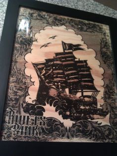 Handmade Wood Prints by Corey Gilmore, via Behance