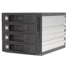 NEW StarTech.com 4 Drive 3.5in Trayless Hot Swap SATA Mobile Rack Backplane