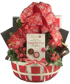 A Country Christmas Gift Basket - http://www.fivedollarmarket.com/a ...