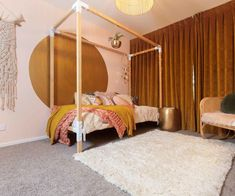 The Block NZ: Inside this week's record-breaking kid's room reveal The Block Nz, Inside Home, Kids Bedroom, Toddler Bed, Judges, House, Mood, Furniture, Space