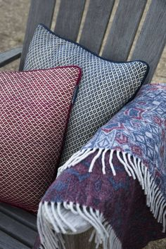 Lexington Plaid Jacquard Wool Throw · home go lucky