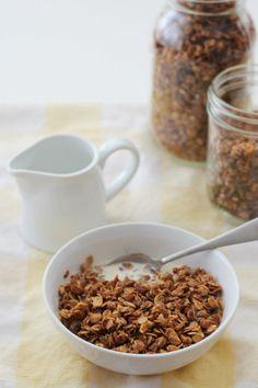 Cinnamon Granola #DIY #Homemade #Recipes