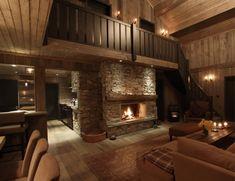 Cabin Hardangervidda Design and Decoration by Interior Designer Scenario Cabin Interiors, Cozy Cabin, Log Homes, Interior Design Inspiration, Interior Architecture, Designer, Cabin Ideas, House Ideas, Rustic Houses