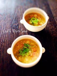 タラとジャガイモのスープ。|レシピブログ