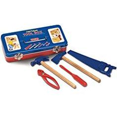 Schylling Tin Tool Box Toy. -- Read more reviews of the product by visiting the link on the image. We are a participant in the Amazon Services LLC Associates Program, an affiliate advertising program designed to provide a means for us to earn fees by linking to Amazon.com and affiliated sites.