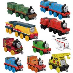 Superb Thomas & Friends TrackMaster Push Along Sodor Steamies Multipack Now at Smyths Toys UK. Shop for Thomas Trackmaster Engines At Great Prices. Bmw X6 White, Thomas And Friends Toys, Fisher Price Toys, Train Engines, Baby Swings, Thomas The Tank, Friends Tv Show, Building Toys, Fun Games