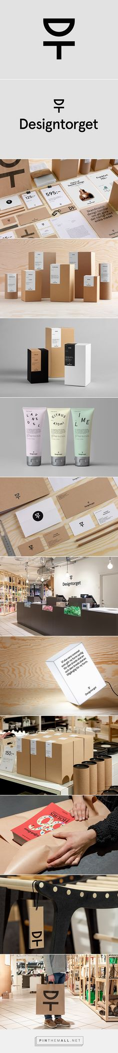 Designtorget on Behance by Kurppa Hosk, Stockholm, Sweden curated by Packaging Diva PD. Coperate Design, Label Design, Logo Design, Package Design, Branding And Packaging, Kraft Packaging, Brand Identity Design, Graphic Design Branding, Packaging Design Inspiration