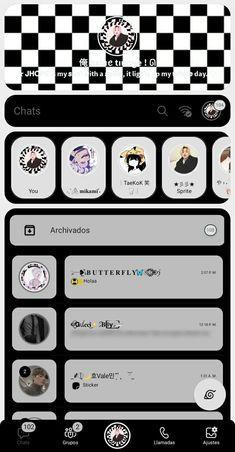Badass Aesthetic, Aesthetic Gif, Aesthetic Themes, Emoji Wallpaper, Kawaii Wallpaper, Tema Dark, Simbolos Para Nicks, Whatsapp Theme, Piskel Art