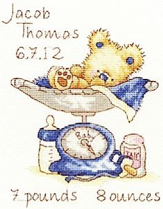 Cross stitch ideas for baby | Cross Stitching
