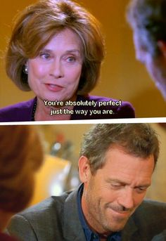 House and his mom